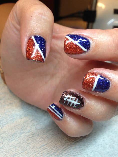 denver broncos nail designs pin denver broncos nail beautiful womans portal on