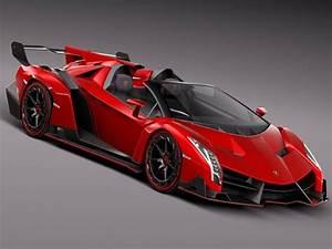 Lamborghini Veneno Red Wallpaper - johnywheels.com