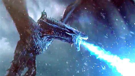 Blue Eyes White Dragon Background Game Of Thrones Season 7 Episode 7 Dragon Army Scene 2017 Youtube