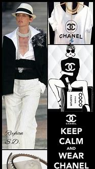 ''Chanel '' by Reyhan S.D. | Color me beautiful, Lady ...
