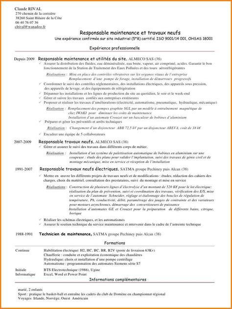 lettre de motivation technicien de maintenance electrotechnique