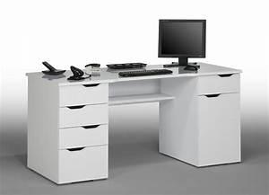 Bureau Pour Ado : bureau 5 tiroirs et 1 porte cesar meubles atlas ~ Nature-et-papiers.com Idées de Décoration