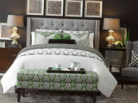 green and gray bedroom 50 of the most spectacular green bedroom ideas the sleep 15469 | A Beautiful Mixture