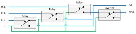 relay logic diagram of xor gate powerking co