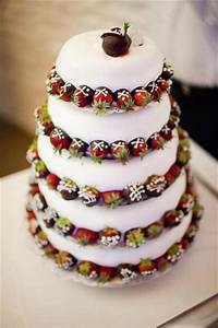 16 Chocolate Dipped Strawberry Wedding Cake Ideas – Candy ...