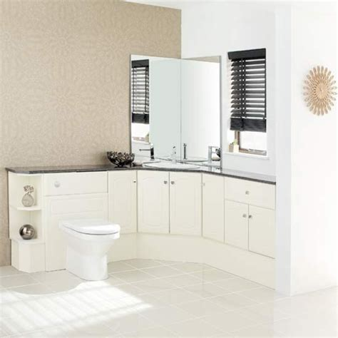 Fitted Bathroom Cupboards by White Bathroom Fitted Bathrooms Housetohome Co Uk