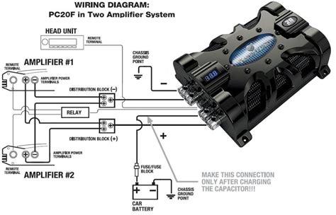 amazoncom planet audio pcf  farad car capacitor
