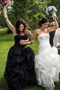 will the white wedding dress tradition continue find out With lesbian wedding dresses