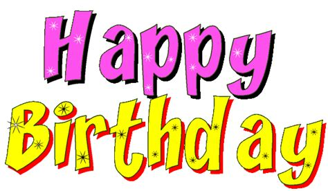 Happy Birthday Animated Clip Birthday Banner Clipart Clipart Panda Free Clipart Images