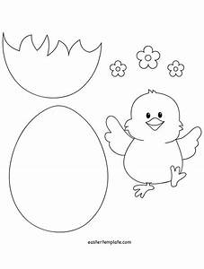 best 25 easter templates ideas on pinterest easter With easter chick templates free