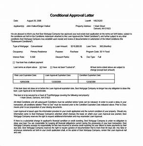 mortgage commitment letter 5 download free documents in With letter of commitment template