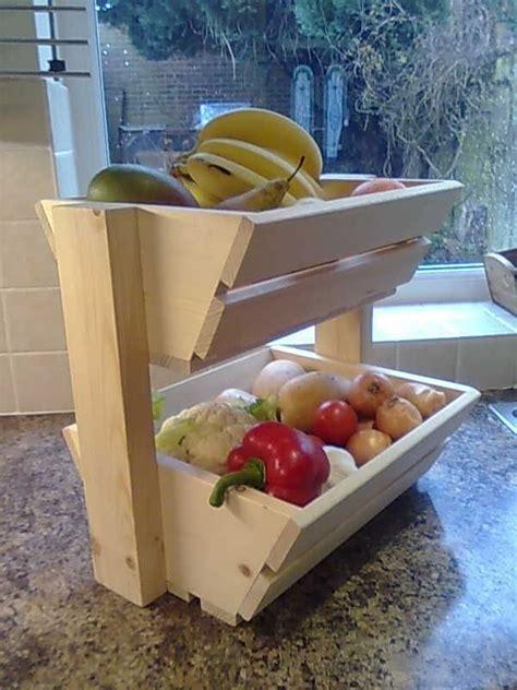 kitchen vegetable storage baskets kitchen fruit storage new wood vegetable rack storage 6379
