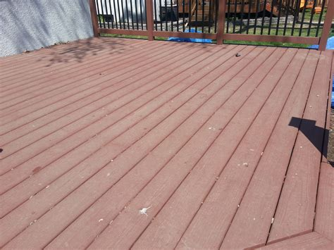 does behr deck over last small change in my deck