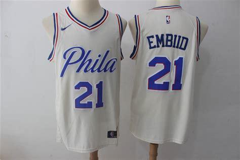 Cheap Nike Nba Philadelphia 76ers #21 Joel Embiid Jersey