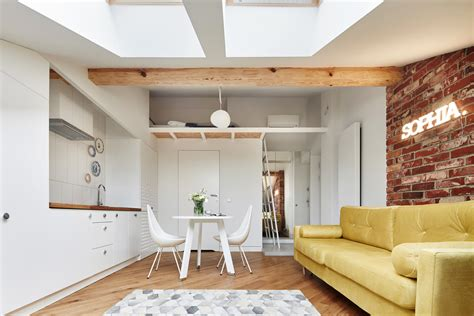 Small Attic Apartment on Only 19 sqm. – Adorable Home