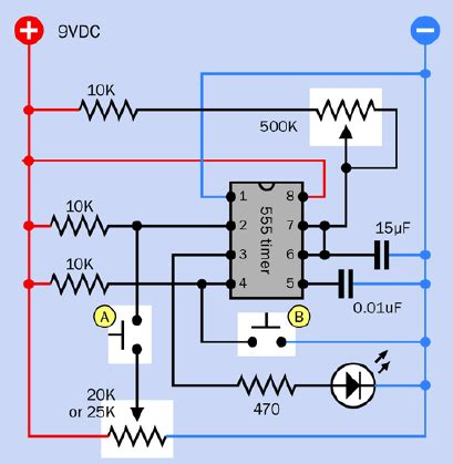 Timer Why The Potentiometer Setup This