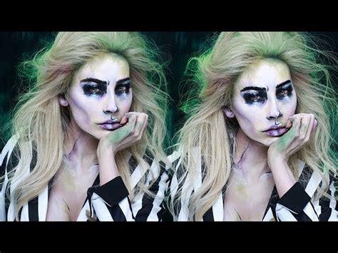 beetlejuice halloween makeup desi perkins beautyvlogs
