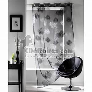 Tringle A Rideau 4m : voilage noir pas cher tringle rideau ~ Melissatoandfro.com Idées de Décoration