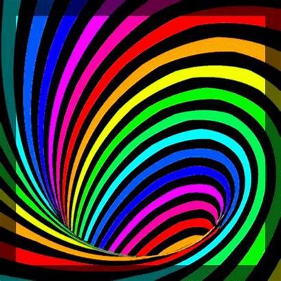 Down Drain Optical Deviantart Smooothe Rainbow Illusion