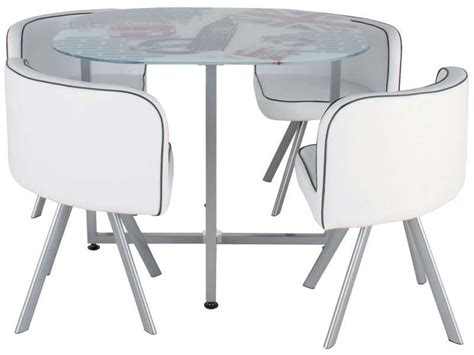 table et chaise conforama meuble gain de place cuisine kirafes