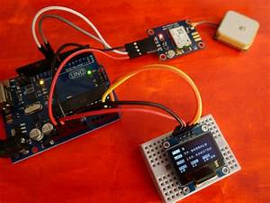 Arduino Uno With Neo Gps And Oled  U2013 Robot Zero Onerobot Zero One