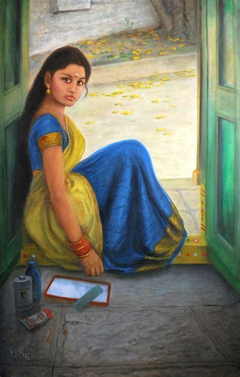 dravidian painting by vishalandra dakur