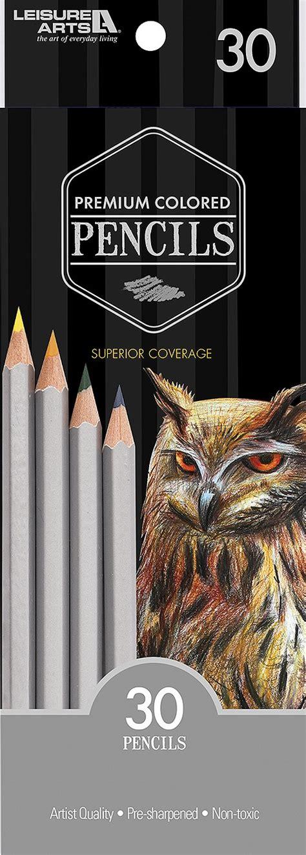 premium colored pencils 30 pack premium colored pencils leisurearts