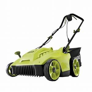 Sun Joe 16 In  6 5 Amp Corded Electric Walk