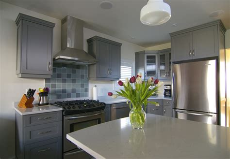 modern gray kitchen makeover interior design inspirations