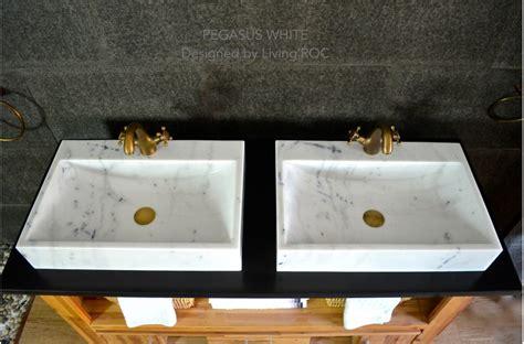 white marble sink 600 white marble basin bathroom sink faucet hole pegasus white