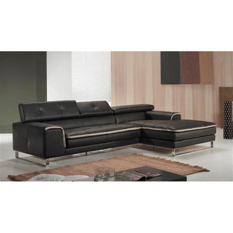 canape angle italien canapé d 39 angle chaise longue en cuir haut de gamme italien