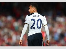 Why does Dele Alli wear Dele on the back of his Tottenham