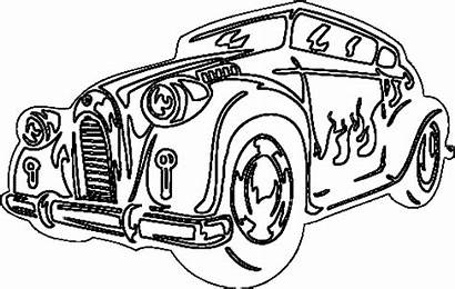 Coloring Pages Classic Cars Cool Printable Drawing