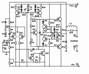 100w With Pcb Power Amplifier Circuit