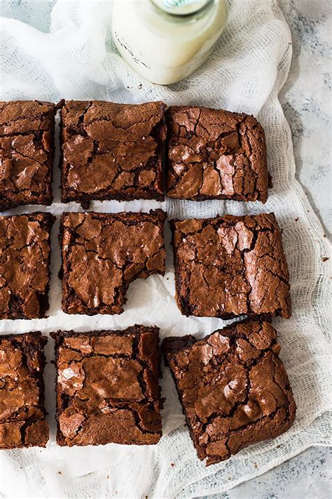 homemade chewy brownies countryside cravings