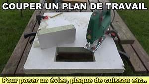 Couper Plan De Travail : couper un plan de travail pour poser un vier une plaque ~ Dallasstarsshop.com Idées de Décoration
