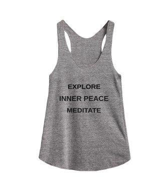 explore inner peace meditate @skreened | Womens workout ...