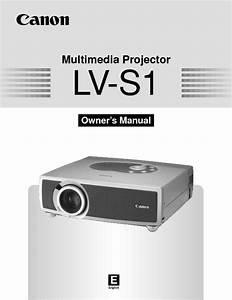 Lv-s1 Manuals
