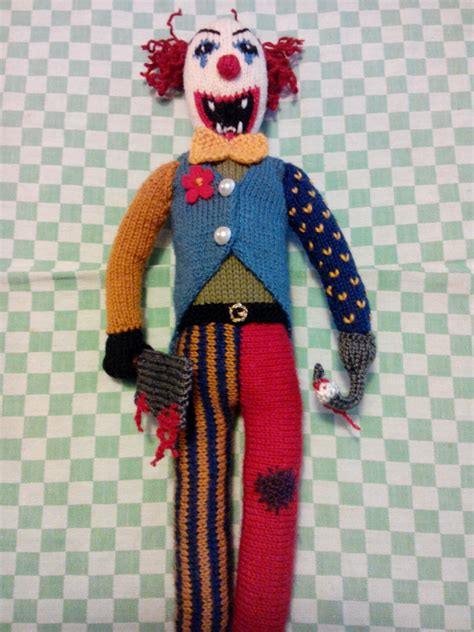 evil clown  favorites included pixie knits