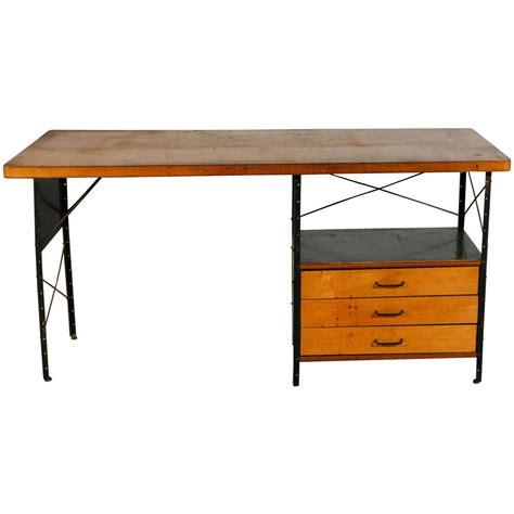 herman miller desk l charles eames desk by herman miller at 1stdibs