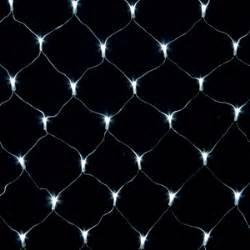 200 led white chasing net light set birddog lighting