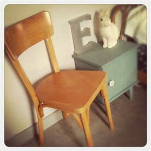Chaise Bistrot Vintage : vendue chaise bistrot vintage deco trendy a t e l i e r ~ Teatrodelosmanantiales.com Idées de Décoration