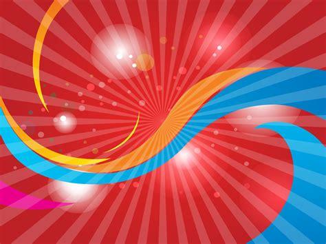 red swoosh background vector art graphics freevectorcom