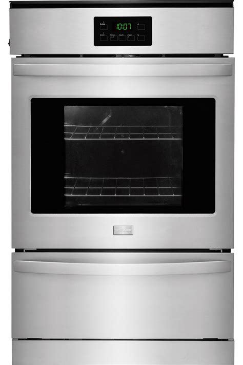 frigidaire 24 quot stainless gas wall oven ffgw2415qs