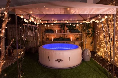 image result  lay  spa decking hot tub garden hot
