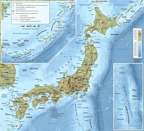 Carte Nord Ouest Détaillée by Fichier Carte Topographique Du Japon Fr Svg Wikip 233 Dia