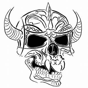 semi tribal demon skull by bloodbath03 on DeviantArt
