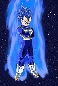 SSJ God Blue Hair Vegeta by DragonBallAffinity on DeviantArt
