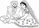Punjabi Couple Connect Dot Worksheet Sikhism Dots Printable Clipart Cliparts Pdf Email Religions Favorites sketch template