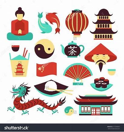 China Clipart Asian Chinese Symbol Illustration Culture